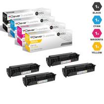 CS Compatible Replacement for HP 305A Premium Quality Toner Cartridge 4 Color Set (CE410A/ CE411A/ CE412A/ CE413A)