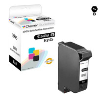 HP 51645A (HP-45) Ink Cartridge Remanufactured Black