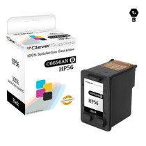 HP C6656AN (HP-56) Ink Cartridge Remanufactured Black