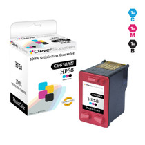CS Compatible Replacement for HP C6658A (HP-58) Ink Cartridge Remanufactured Photo Color