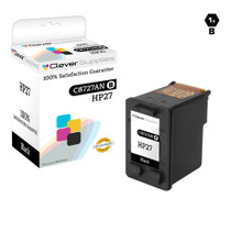 HP C8727A (HP-27) Ink Cartridge Remanufactured Black