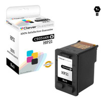 HP C9351AN (HP-21) Ink Cartridge Remanufactured Black