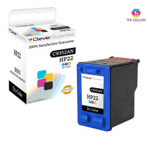HP C9352AN (HP-22) Ink Cartridge Remanufactured Tri Color