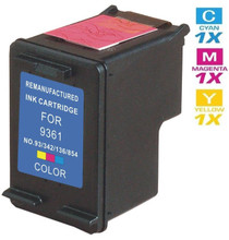 CS Compatible Replacement for HP C9361WN (HP-93) Ink Cartridge Remanufactured Tri Color
