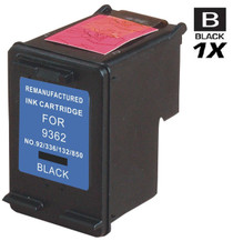 CS Compatible Replacement for HP C9362WN (HP-92) Ink Cartridge Remanufactured Black