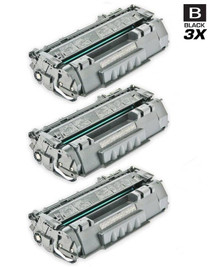 CS Compatible Replacement for HP CE505A Toner Cartridge Black 3 Pack/ HP 05A