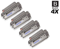 HP Q2610A Premium OEM Quality Toner Cartridge Black 4 Pack/ HP 10A Toner
