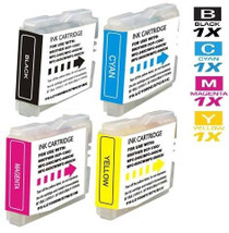 Compatible Brother LC51 InkJet Cartridge 4 Color Set (LC51BK/ LC51C/ LC51M/ LC51Y)
