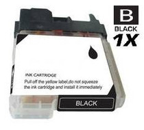 Brother LC61BK InkJet Compatible Cartridge Black