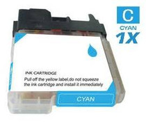 Brother LC61C InkJet Compatible Cartridge Cyan