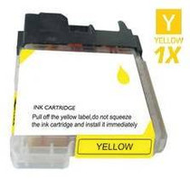 Brother LC61Y InkJet Compatible Cartridge Yellow