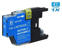 Compatible Brother LC75C InkJet Cartridge Cyan