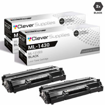 Compatible Samsung ML-1210D3 Laser Toner Cartridge Black 2 Pack