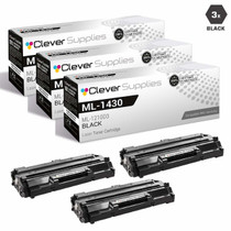 Compatible Samsung ML-1210D3 Laser Toner Cartridge Black 3 Pack