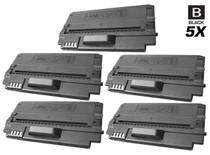 Compatible Samsung ML-1630W Laser Toner Cartridges Black 5 Pack