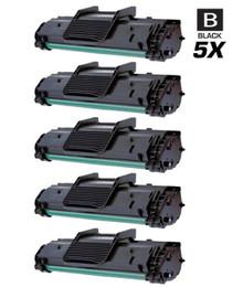 Compatible Samsung ML-2010 Laser Toner Cartridges Black 5 Pack