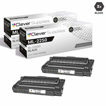 Samsung ML-2250D5 Compatible Laser Toner Cartridge Black 2 Pack