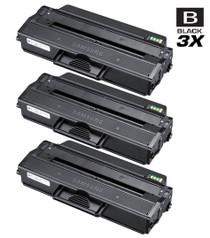 Compatible Samsung MLT-D103L High Yield Laser Toner Cartridge Black 3 Pack