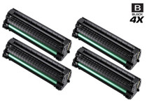Compatible Samsung MLT-D104S Laser Toner Cartridge Black 4 Pack