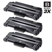 Compatible Samsung MLT-D105L High Yield Laser Toner Cartridge Black 3 Pack