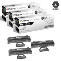 Compatible Samsung MLT-D108S Laser Toner Cartridge Black 3 Pack