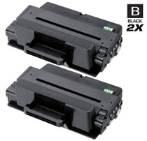 Compatible Samsung MLT-D205L High Yield Laser Toner Cartridge Black 2 Pack