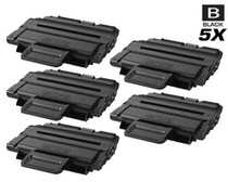 Compatible Samsung ML-2855ND High Yield Laser Toner Cartridge Black 5 Pack