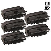 Compatible Okidata B2520 Laser Toner Cartridges Black 5 Pack