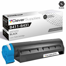 Compatible Okidata B411DN Laser Toner Cartridge Black