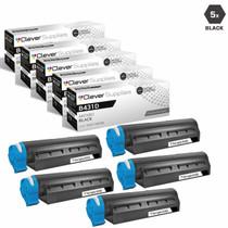 Okidata B431DN Laser Toner Cartridges Compatible Black 5 Pack