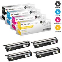 Compatible Okidata C110 Laser Toner Cartridges High Yield 4 Color Set