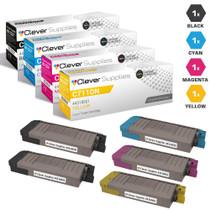 Compatible Okidata C711DN Premium Quality Laser Toner Cartridges 4 Color Set