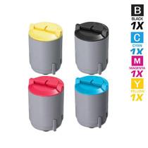 Compatible Samsung CLX-2160N Laser Toner Cartridge 4 Color Set