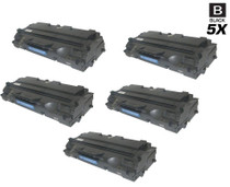 Compatible Samsung ML-1210D3 Premium Quality Laser Toner Cartridge Black 5 Pack