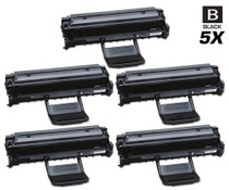 Compatible Samsung MLT-D108S Premium Quality Laser Toner Cartridge Black 5 Pack