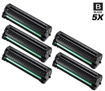 Compatible Samsung SCX-3205W Laser Toner Cartridge Black 5 Pack