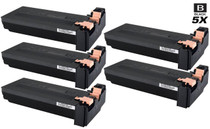 Compatible Samsung SCX-6345FN Laser Toner Cartridges Black 5 Pack