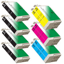 10 PACK : EPSON T069 COMPATIBLE SERIES INCLUDES - 4 BLACK/ 2 CYAN/ 2 MAGENTA/ 2 YELLOW
