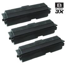 Compatible Kyocera Mita 1T02FV0US0 (TK-112) Laser Toner Cartridges Black 3 Pack