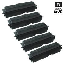 Compatible Kyocera Mita 1T02FV0US0 (TK-112) Laser Toner Cartridges Black 5 Pack