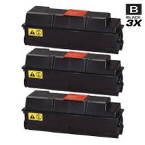 Compatible Kyocera Mita 1T02F90US0 (TK-322) Laser Toner Cartridges Black 3 Pack