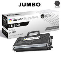 Compatible Brother TN360J Laser Toner Cartridge Jumbo Yield Black