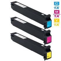 Compatible Konica Minolta TN-613 Laser Toner Cartridges 3 Color Set (A0TM430/ A0TM330/ A0TM230)