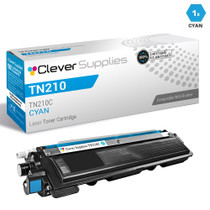 Brother TN210C Laser Toner Compatible Cartridge Cyan