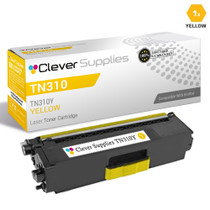 Brother TN310Y Laser Toner Compatible Cartridge Yellow