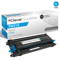 Compatible Brother TN315C Laser Toner Cartridge High Yield Cyan