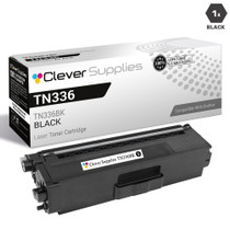 Brother TN336BK Laser Toner Compatible Cartridge High Yield Black