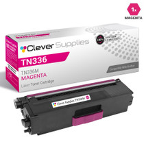 Brother TN336M Laser Toner Compatible Cartridge High Yield Magenta