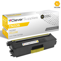 Compatible Brother TN336Y Laser Toner Cartridge High Yield Yellow