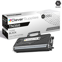 Compatible Brother TN360 Laser Toner Cartridge High Yield Black